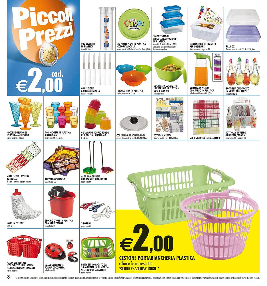 Volantino auchan piccoli prezzi dal 6 agosto al 19 for Piccoli acquari prezzi