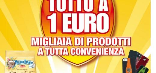 volantino auchan tutto a 1 euro