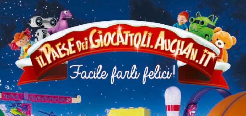 Volantino auchan il paese dei giocattoli dal 5 novembre for Volantino iper conveniente