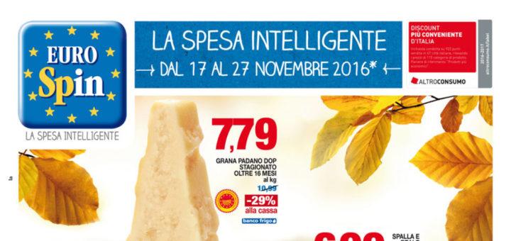 Volantino eurospin la spesa intelligente dal 17 al 27 for Volantino acqua e sapone novembre 2017