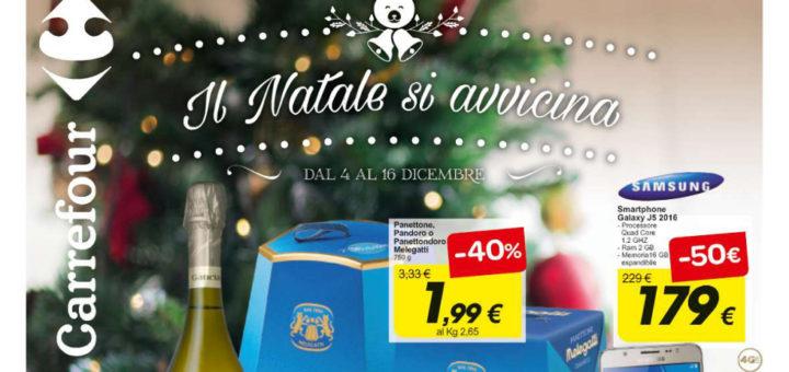 Volantino Carrefour Il Natale Si Avvicina Dal 4 Al 16 Dicembre