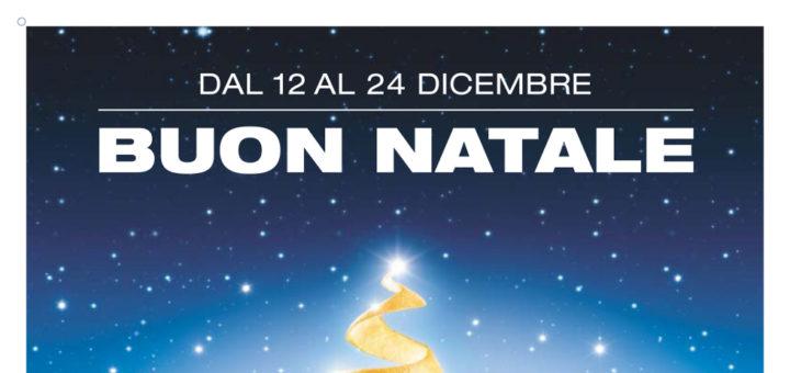 Esselunga Regali Di Natale.Volantino Esselunga Buon Natale Dal 12 Al 24 Dicembre 2016