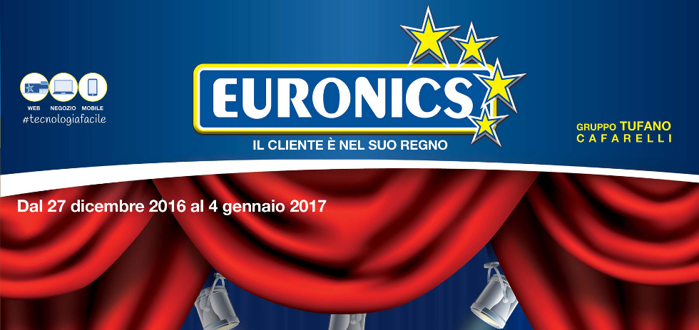 Volantino euronics tufano anteprima saldi dal 27 for Mediaworld lavatrici slim