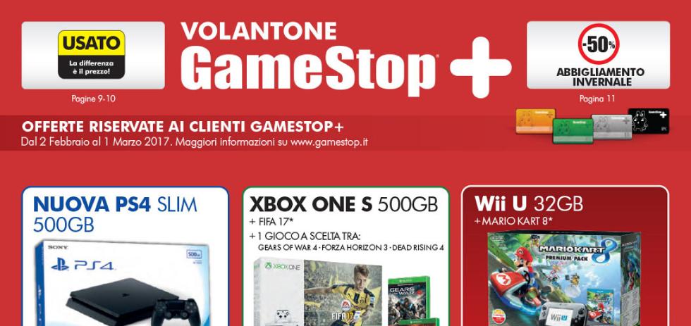 Volantone gamestop dal 2 febbraio all 39 1 marzo 2017 for Mediaworld lavatrici slim
