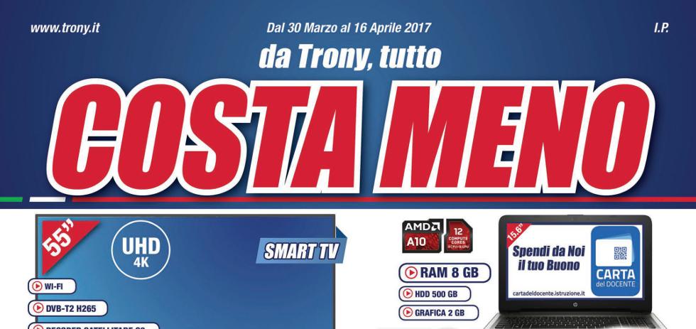Volantino papino trony costa meno dal 30 marzo al 16 for Papino expert sciacca volantino