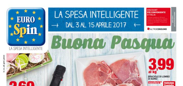 Volantino eurospin buona pasqua dal 3 al 15 aprile 2017 for Offerte eurospin