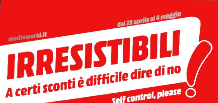 Volantino mediaworld irresistibili dal 28 aprile al 4 for Mediaworld lavatrici slim