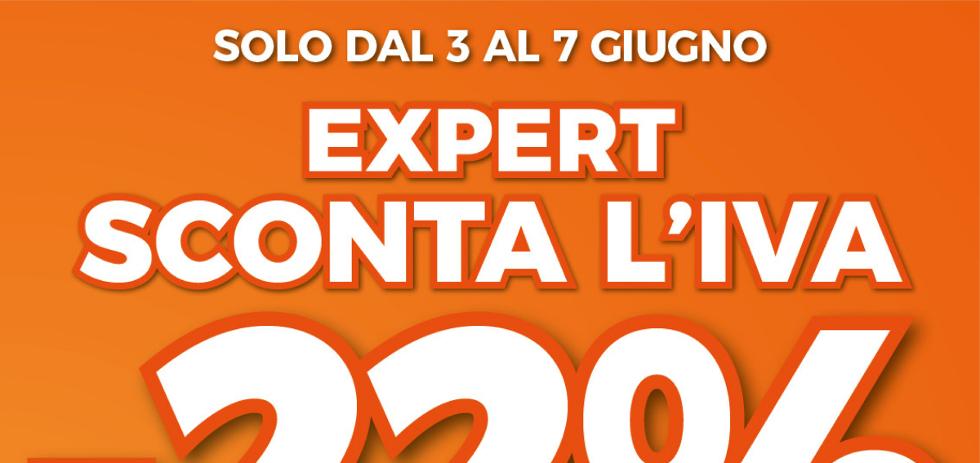 Volantino expert di lella expert sconta l 39 iva 22 dal 3 for Di lella expert volantino