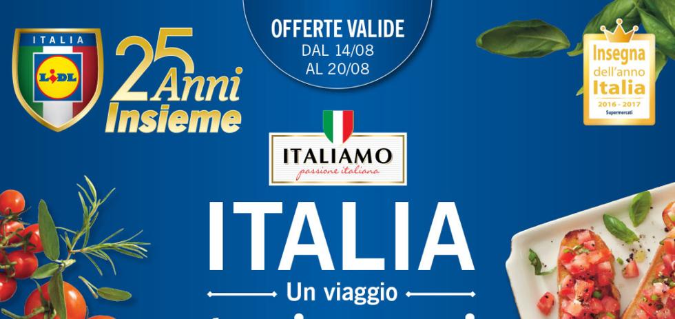 Volantino lidl italia un viaggio tra i sapori dal 14 al for Nuovo volantino acqua e sapone sicilia