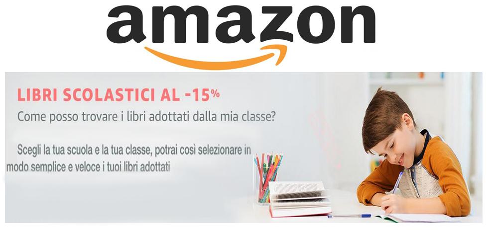 Amazon 15 sui libri scolastici 2017 2018 sbircia prezzo for Codice promozionale amazon libri scolastici