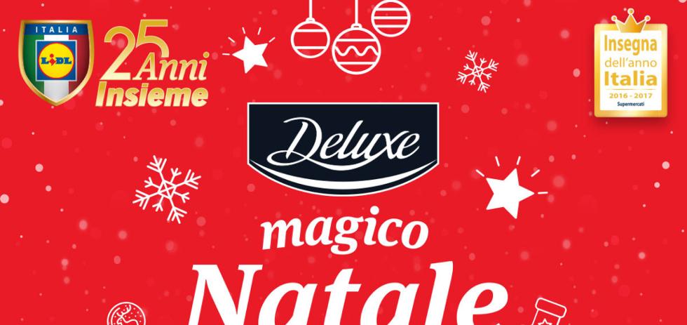 Volantino lidl magico natale dal 30 ottobre al 5 for Volantino acqua e sapone novembre 2017