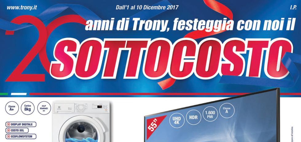 Volantino papino trony sottocosto dall 39 1 al 10 dicembre for Papino expert sciacca volantino