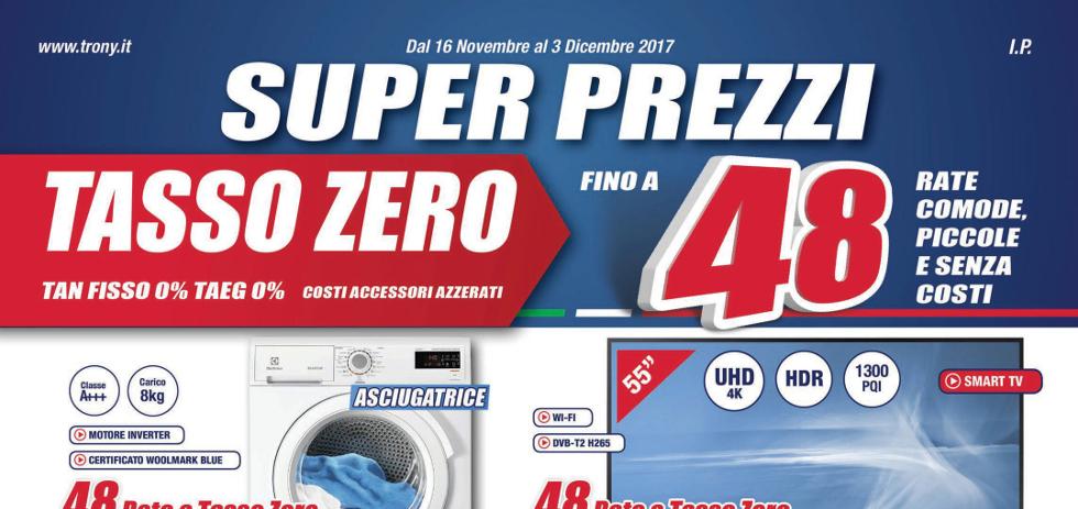Volantino papino trony super prezzi dal 16 novembre al 3 for Papino expert sciacca volantino