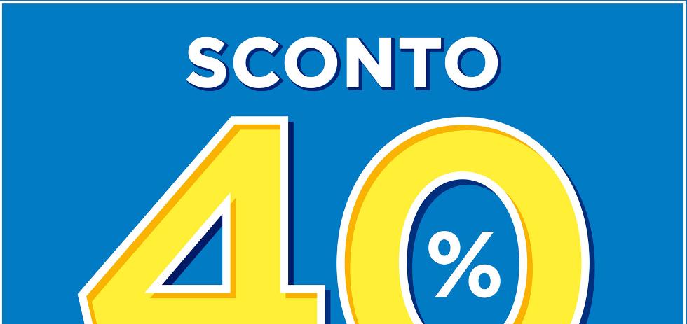 Volantino bennet sconto 40 dal 25 gennaio al 7 febbraio for Volantino iper conveniente