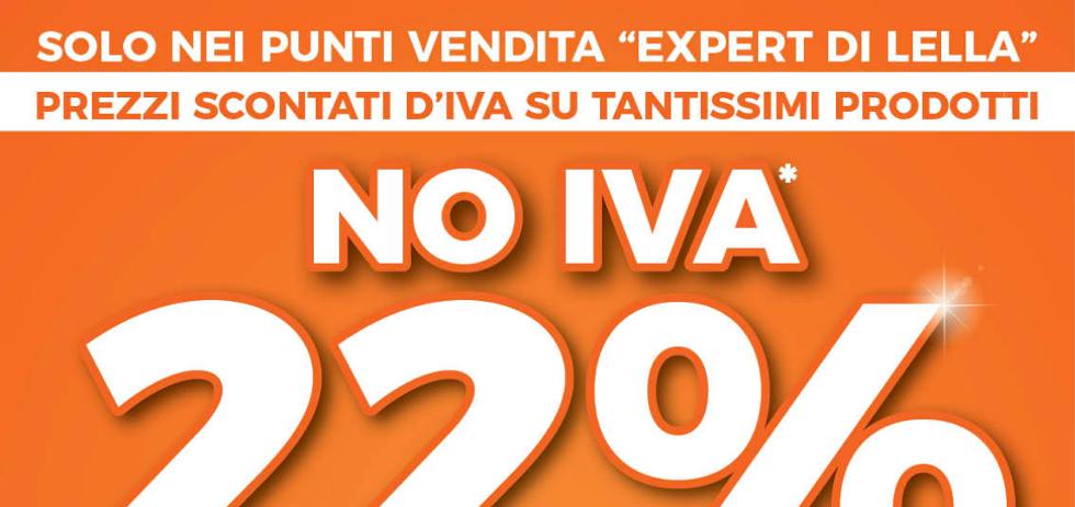 Volantino expert di lella no iva 22 dal 15 al 28 for Di lella expert volantino