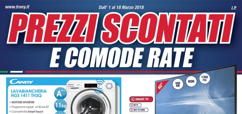 Volantino papino trony prezzi scontati e comode rate for Papino expert sciacca volantino