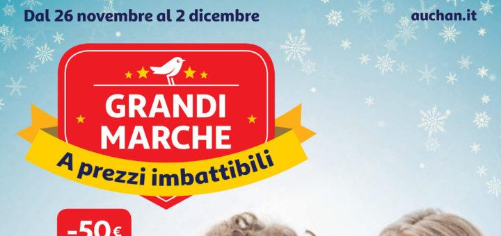 Volantino Auchan Grandi Marche Dal 26 Novembre Al 2 Dicembre 2018