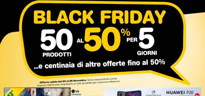 "Volantino Euronics Bruno ""Black Friday"" dal 22 al 26 ..."