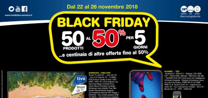 Volantino Euronics La Via Lattea Black Friday Dal 22 Al 26