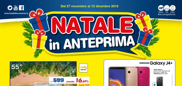 Volantino Euronics La Via Lattea Natale In Anteprima Dal