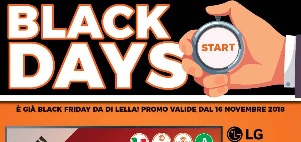 Volantino expert di lella black days dal 22 novembre for Di lella expert volantino