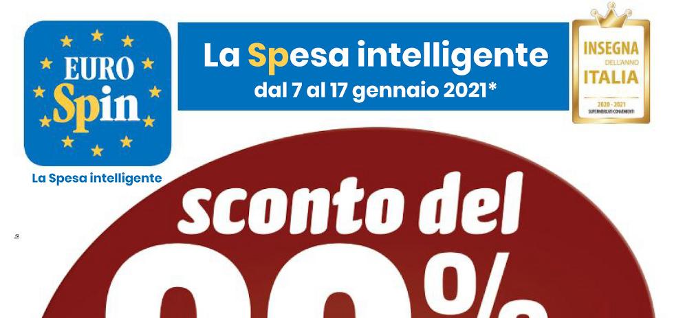 Volantino Eurospin Gennaio 2021